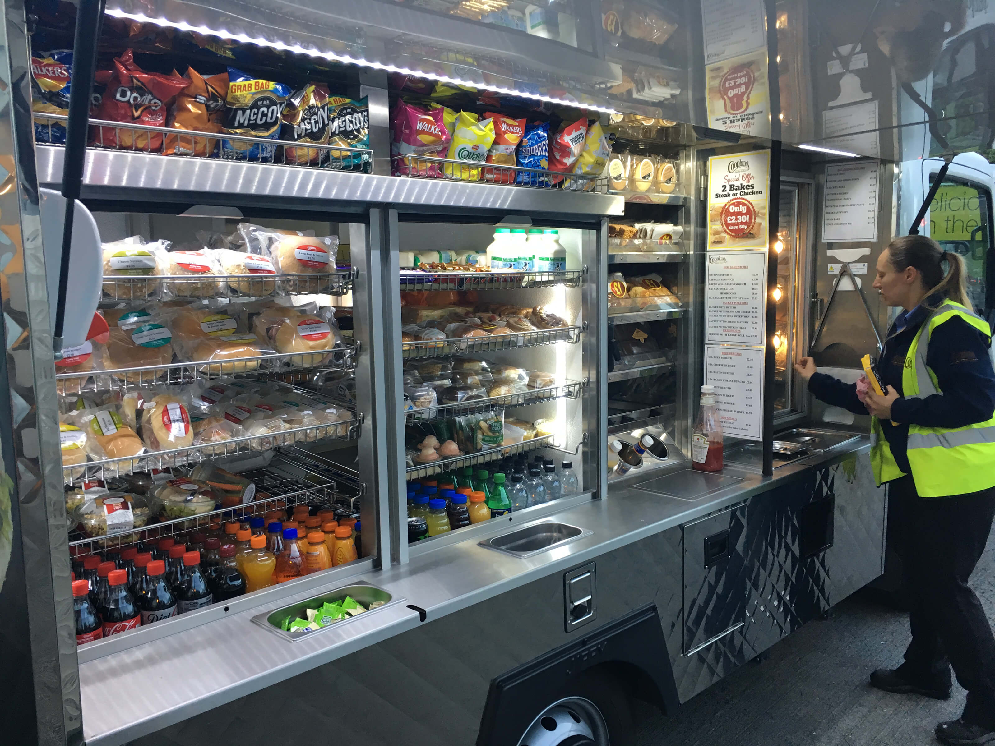 Sandwich Van Locations Coopland Amp Son Scarborough Ltd