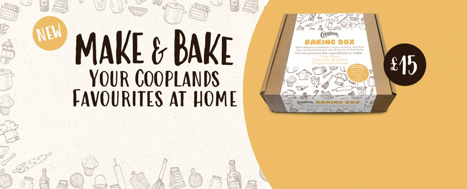 Bake Cooplands Treats at Home